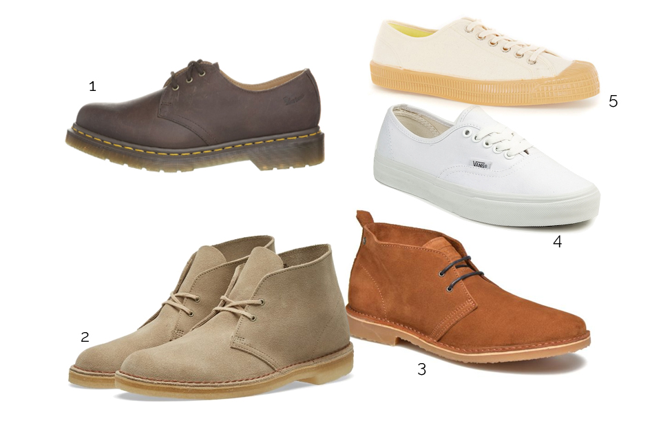 chaussures tendance militaire 2017