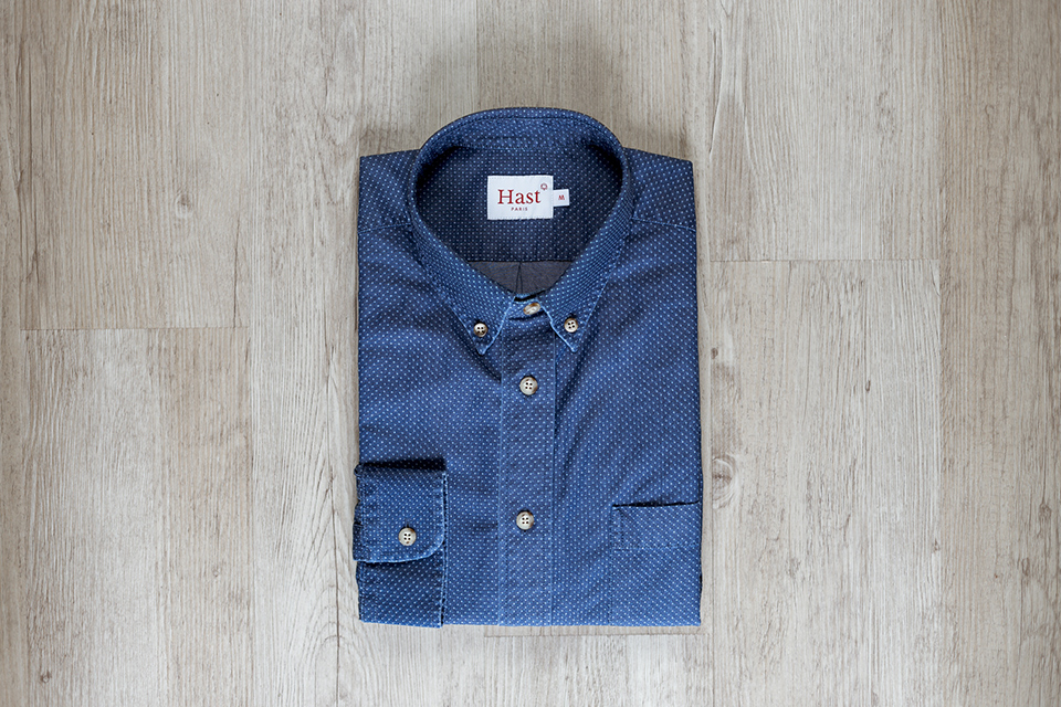 Chemise Hast Casual Pliee