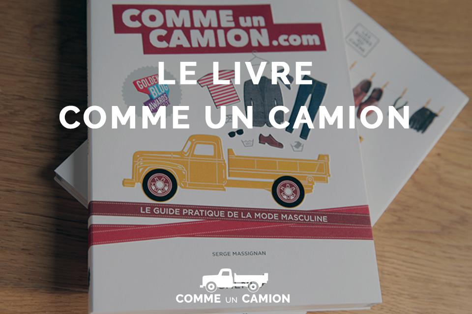 couverture guide livre comme un camion