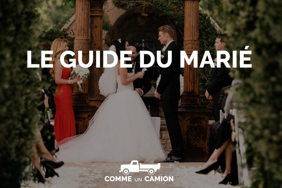 Couverture guide du marié