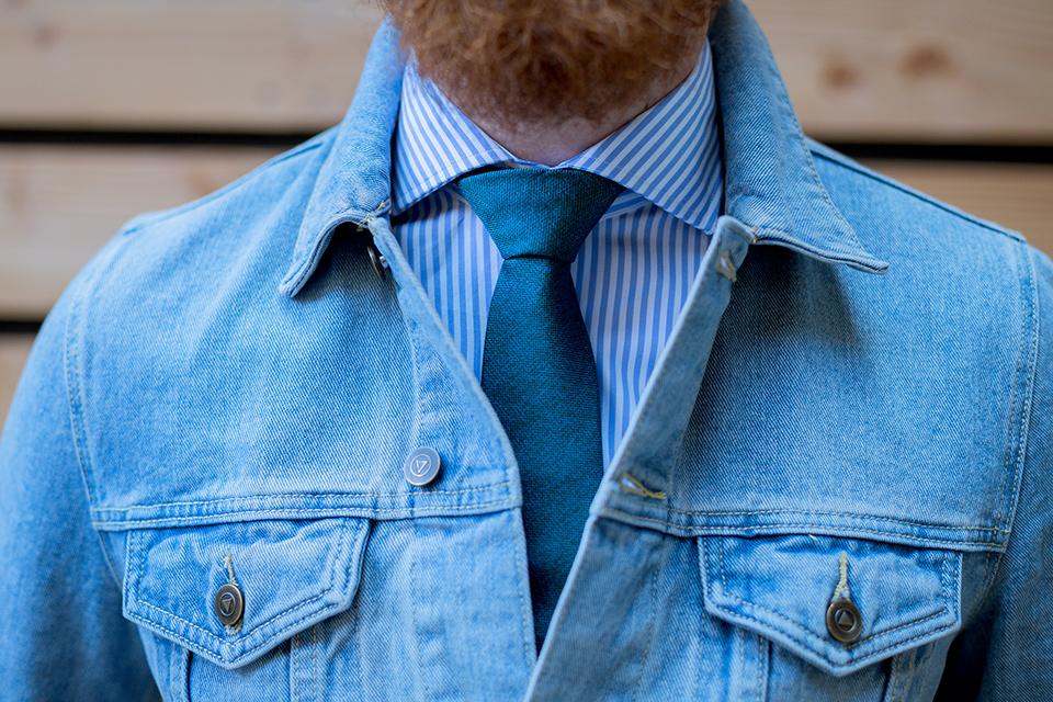 Cravate Hast Verte Portee
