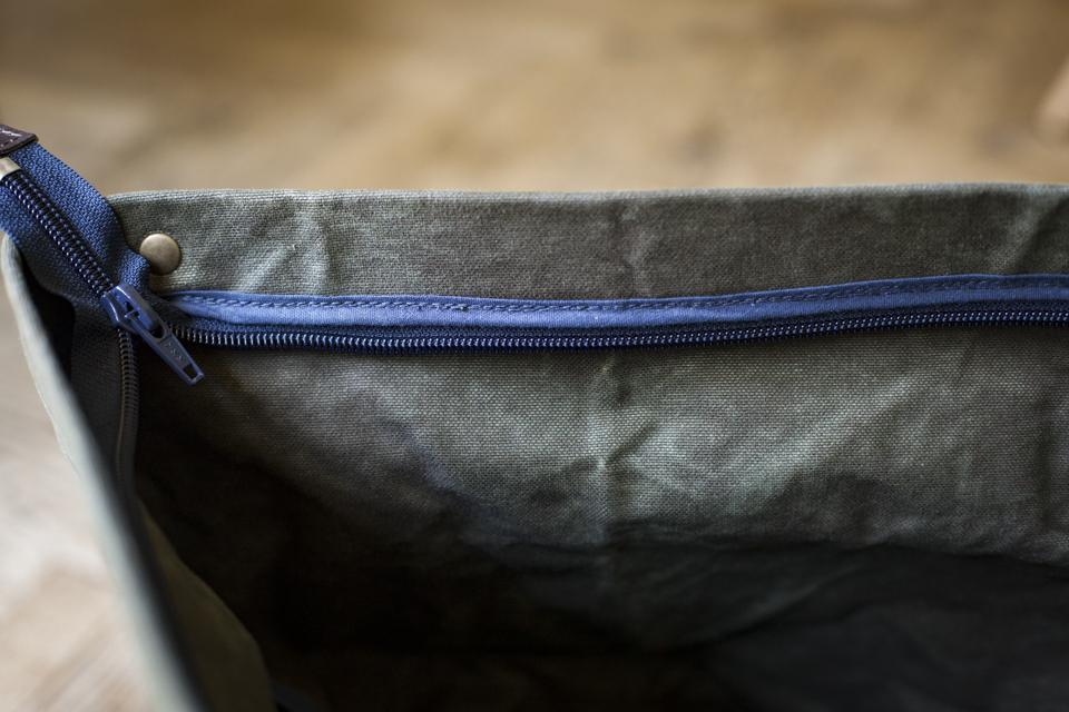 fermeture eclair ykk bleu de chauffe