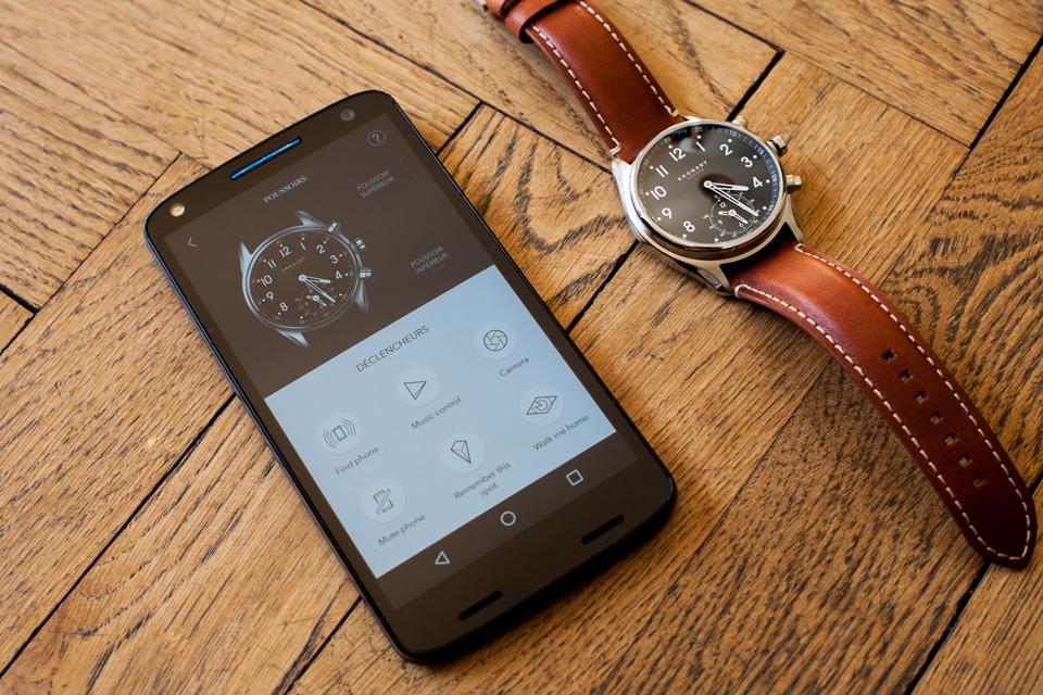 kronaby app smartphone android