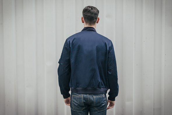 maison standards bomber dos