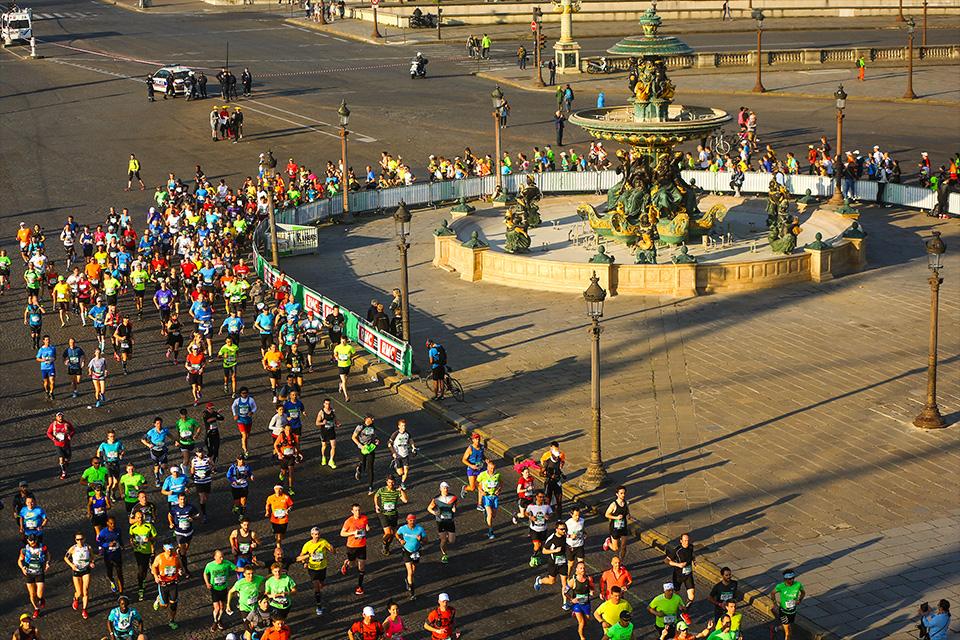 Marathon de Paris Concorde