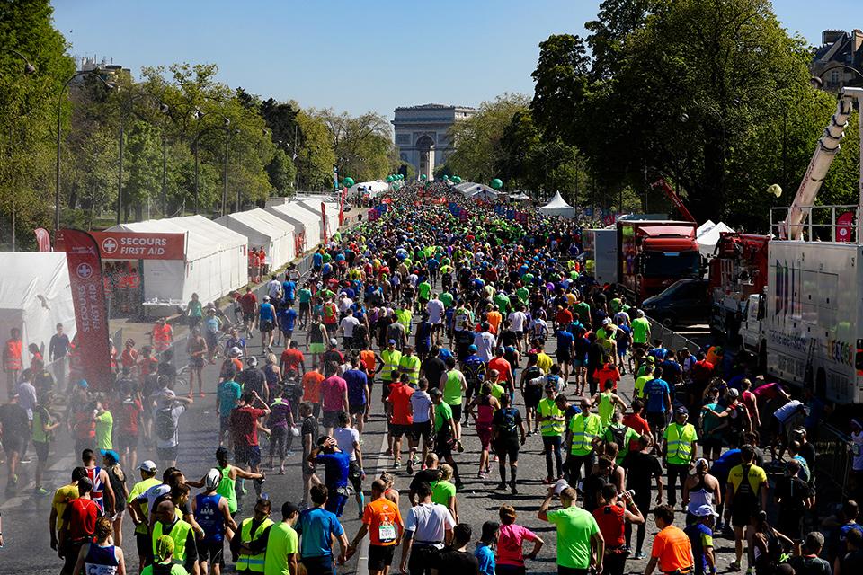 Marathon de Paris Fin