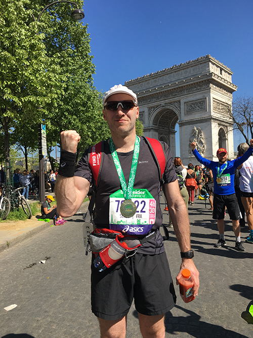 Marathon de Paris Joe