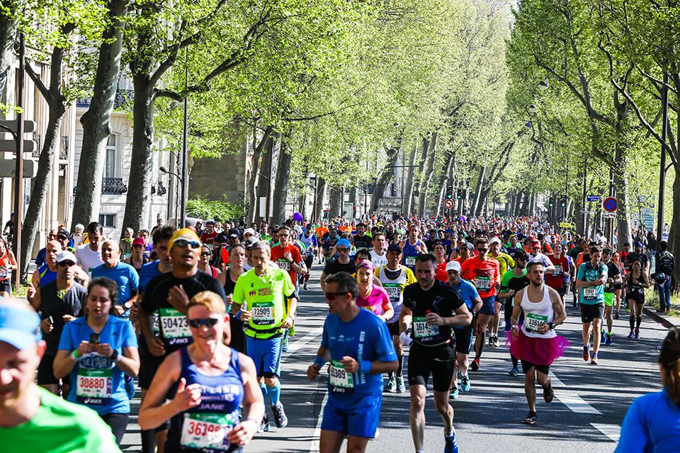 Marathon de Paris Quais
