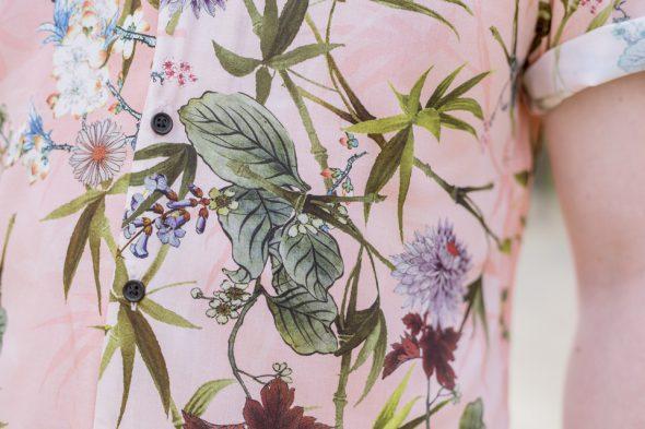 motif fleurs river island