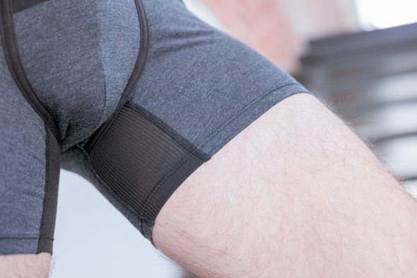 Stance Boxer Anthracite Porte Jambe