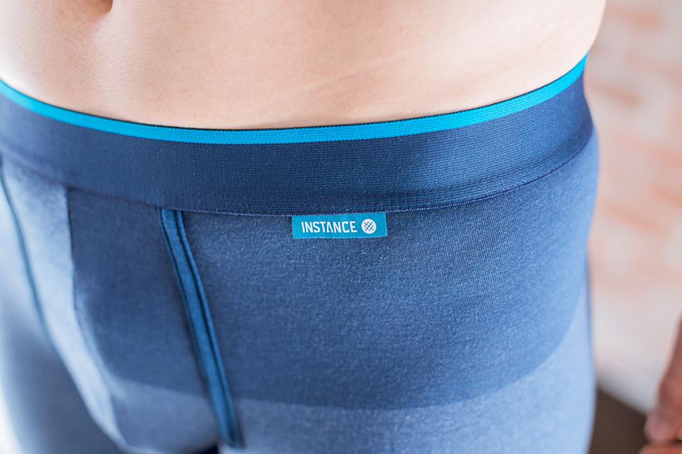 Stance Boxer Bleu Porte Etiquette