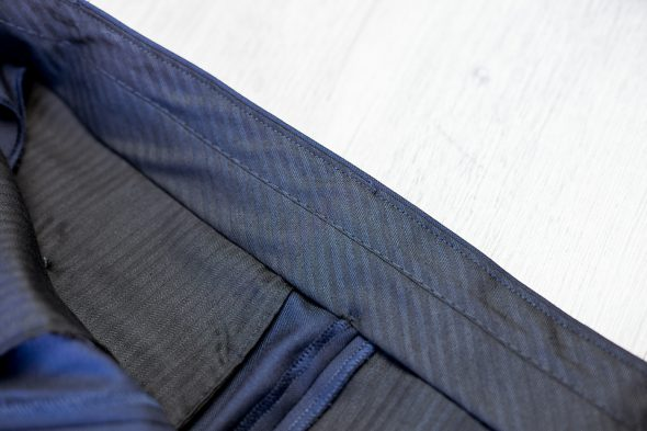 Drapeau Noir Pantalon Doublure