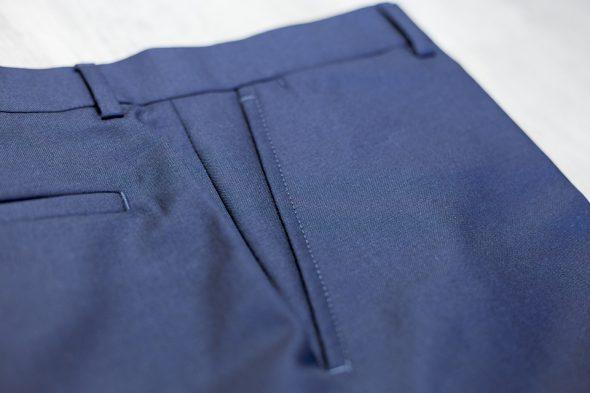 Drapeau Noir Pantalon Poche