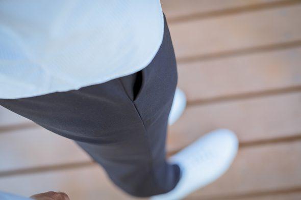 Drapeau Noir Pantalon Porte Poche