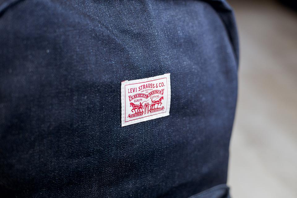 Sac Levis détail logo