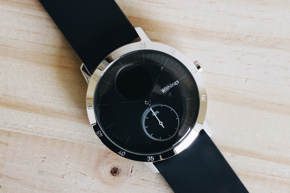 Steel HR withings montre