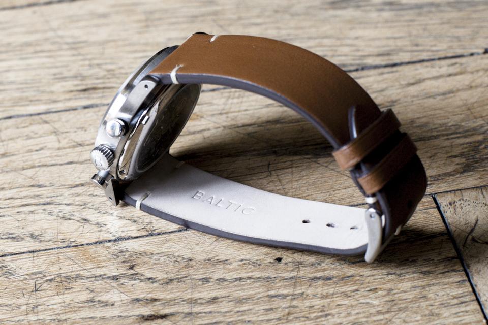 bracelet cuir italien montre baltic