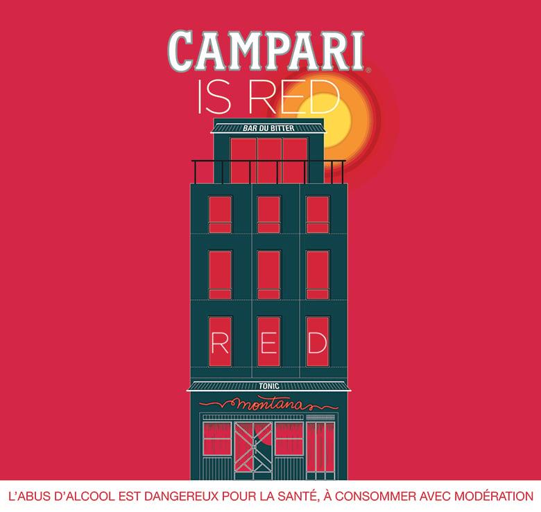 Campari is Red