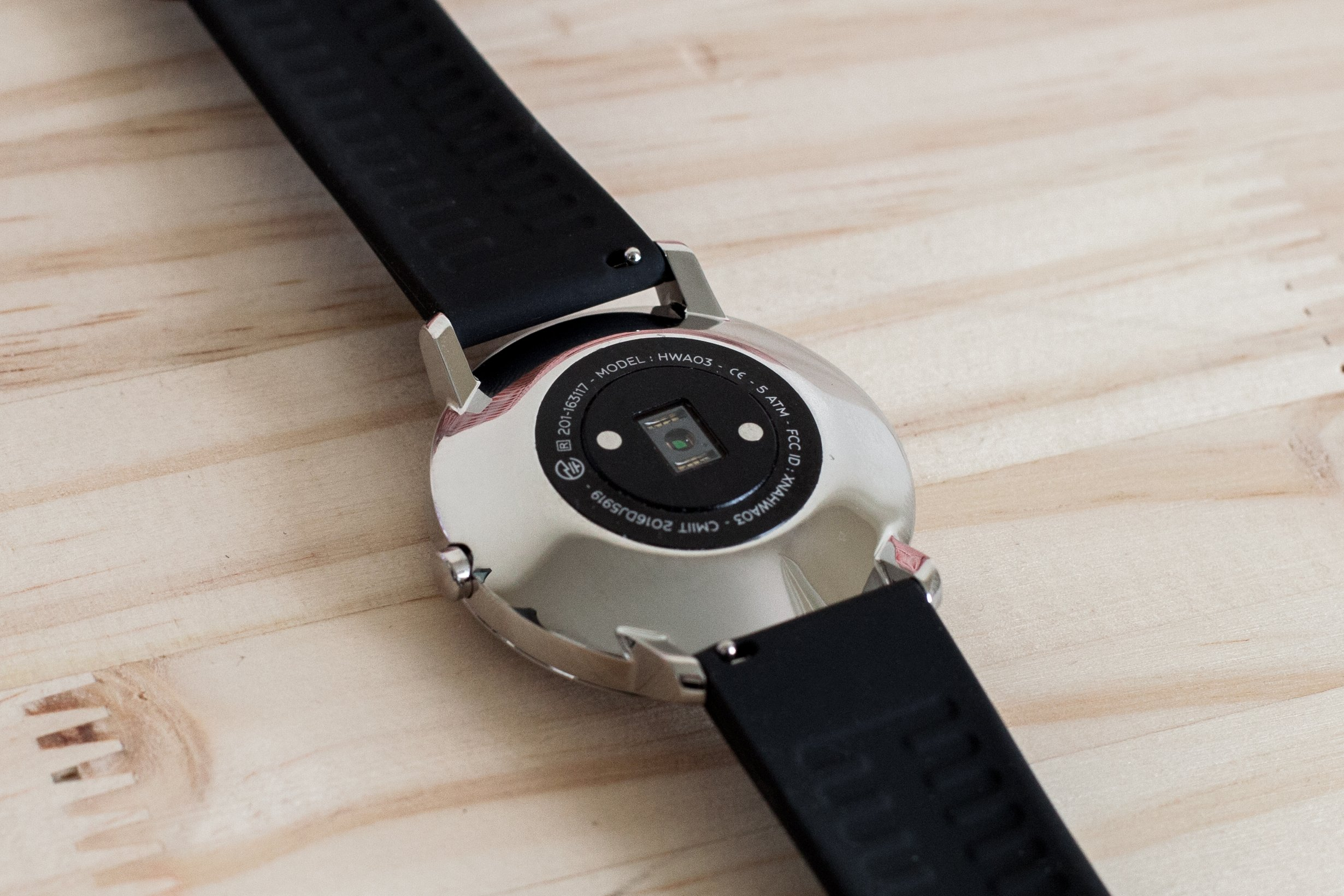 capteur cardiaque withings montre