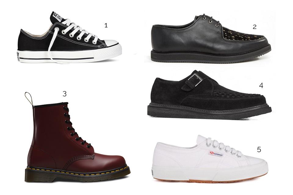 chaussures tendance punk ss17