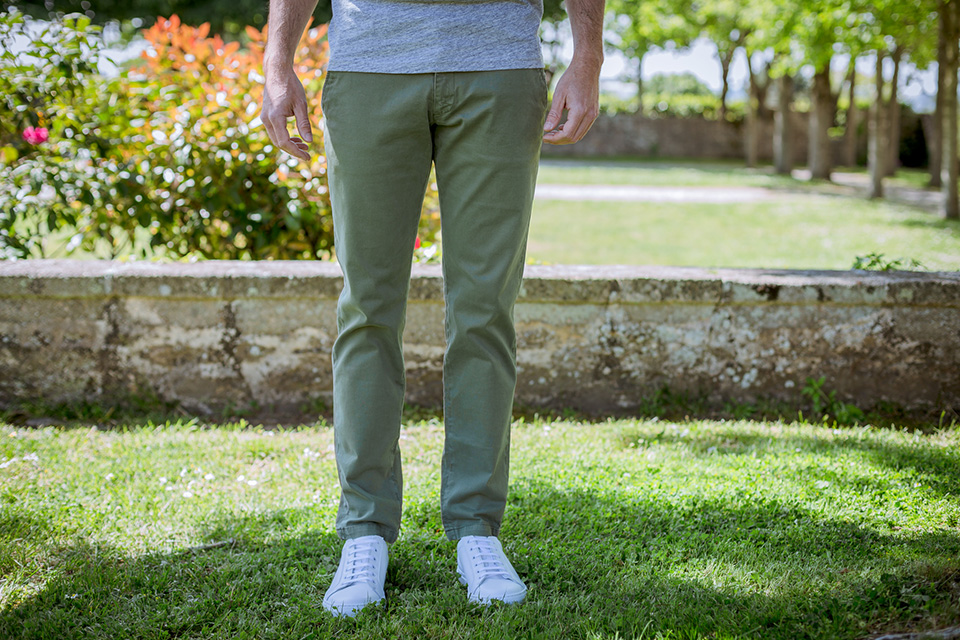 chino acolyte olive porte face