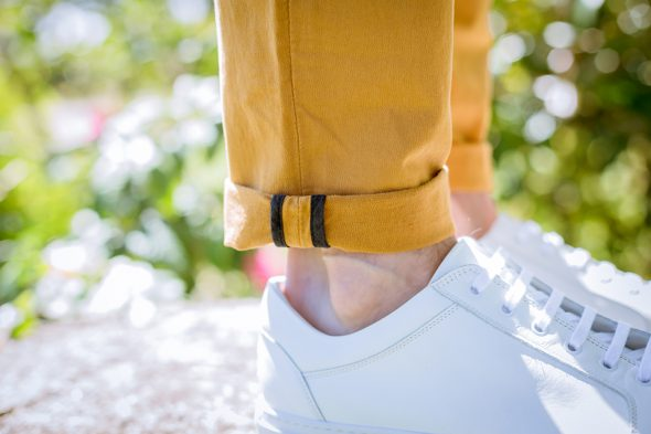 Chino Acolyte Moutarde Porte Revers