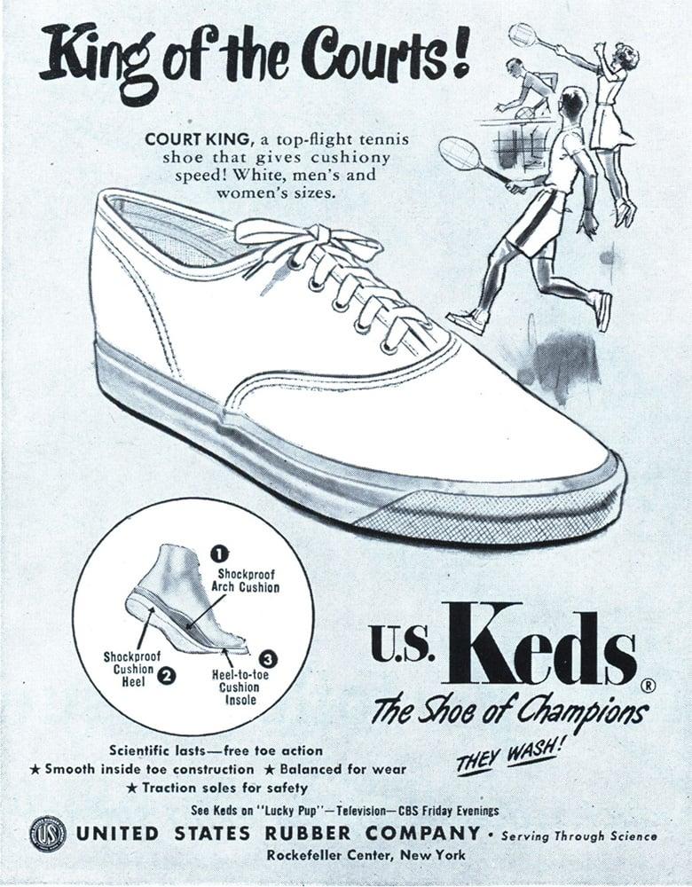 keds vintage ad