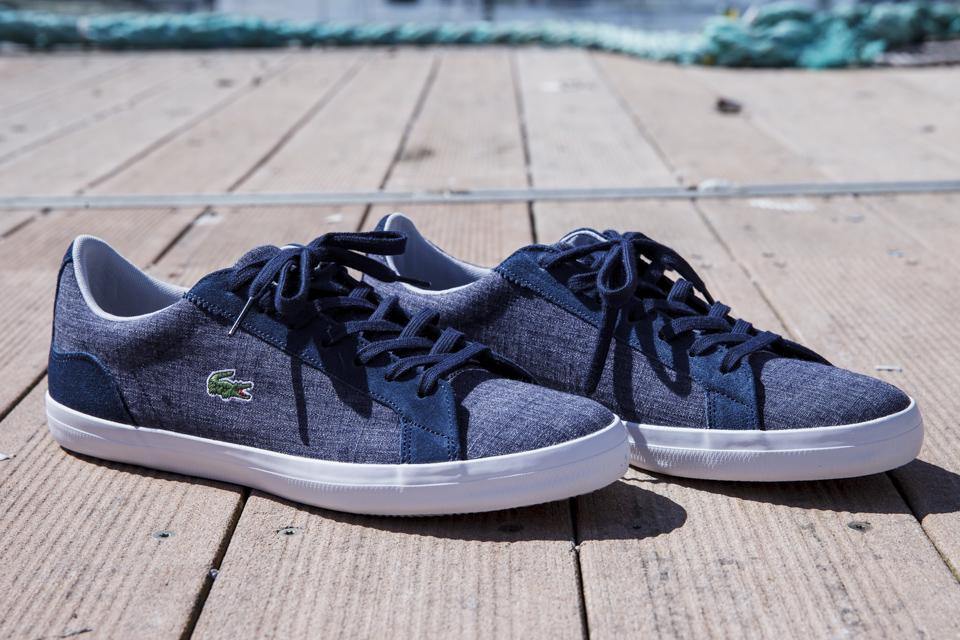 lacoste lerond chambray