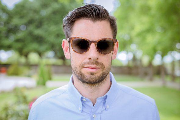lunettes rezin kobe havana porte face