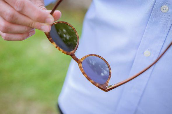 lunettes rezin kobe havane details