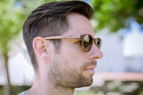 lunettes rezin lloyd milton havana porte profil