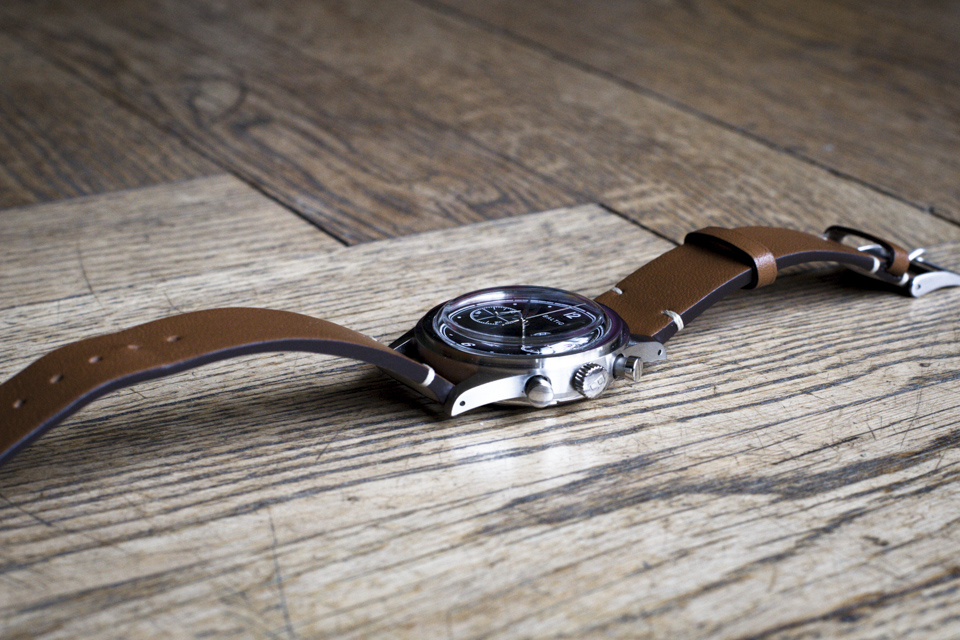 montre baltic verre bombe