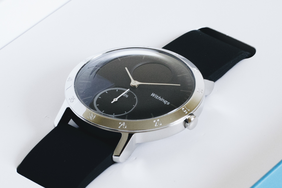 montre withings steel hr test