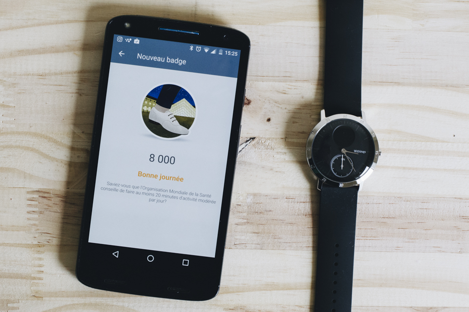 objectif pas withings