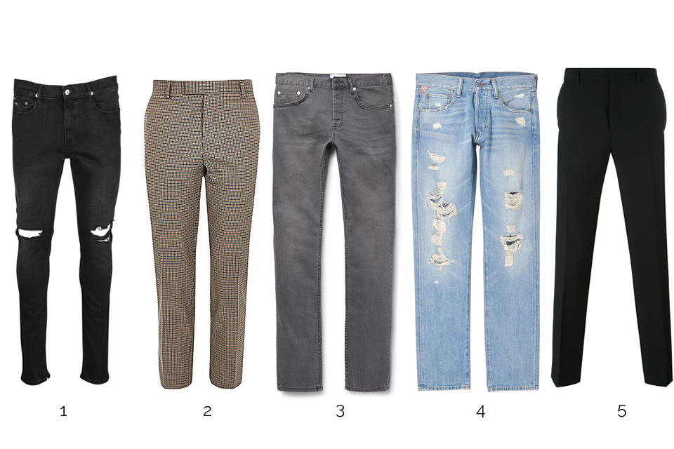 pantalons jeans punk ss17