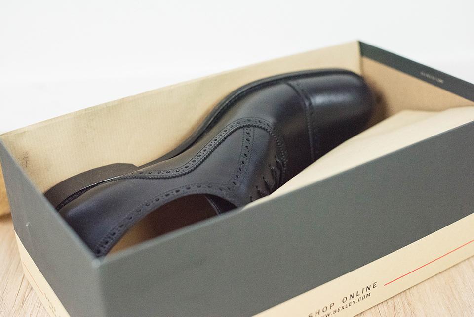 Richelieus Bexley Hornton Chaussure Boite