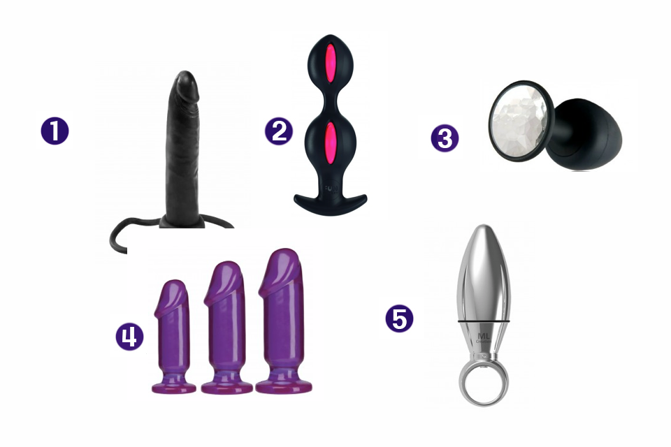 sextoys femme plug anal