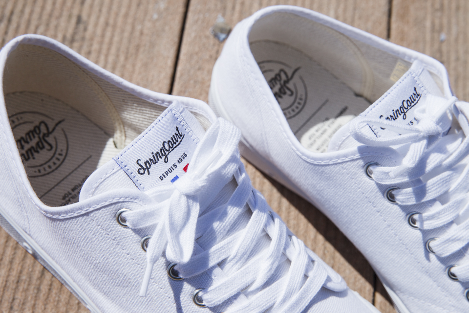 spring court french sneakers