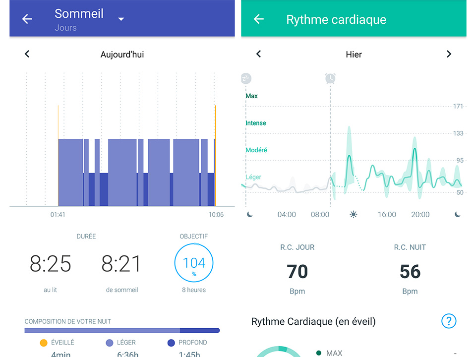suivi withings montre