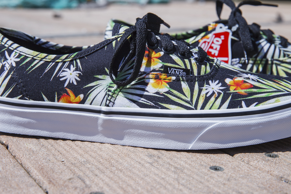 vans authentic palm sneakers