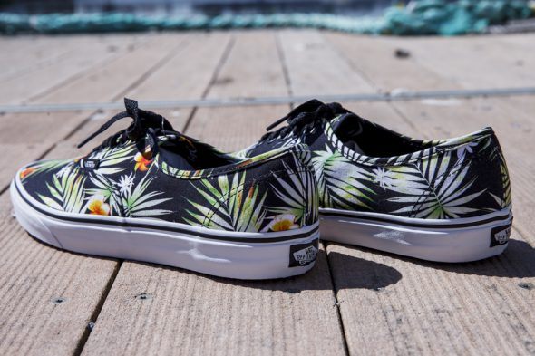 vans authentic palmiers avis