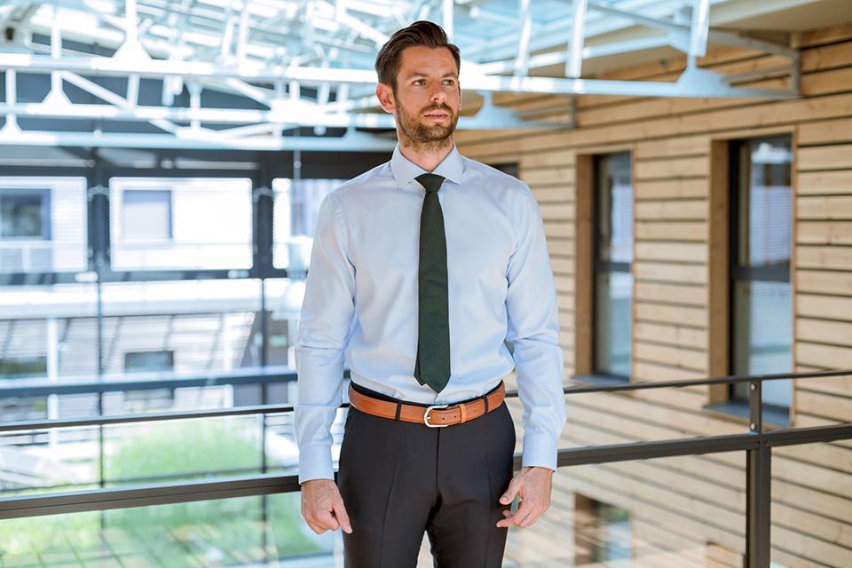 Howards Chemise Portee Cravate