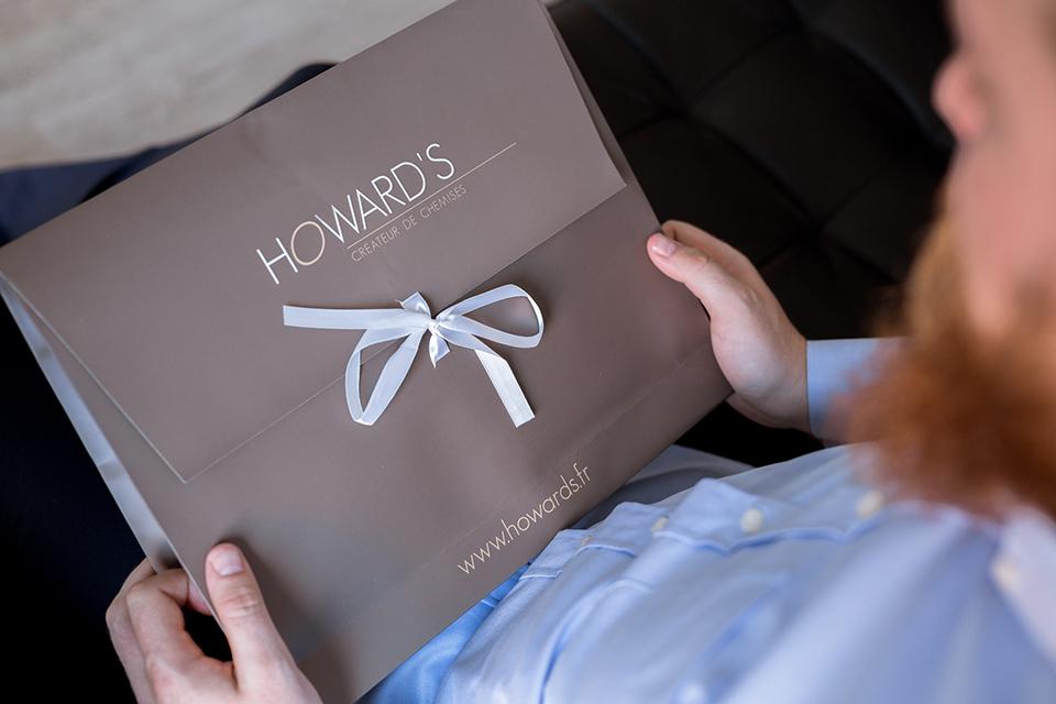 Howards Chemise Boite Propre