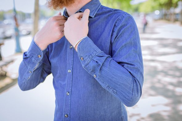 Le Grand Dressing Chemise Mains Col