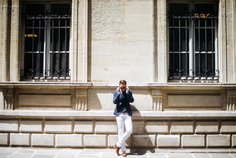Sprezzatura Paris Marais Dandy soleil