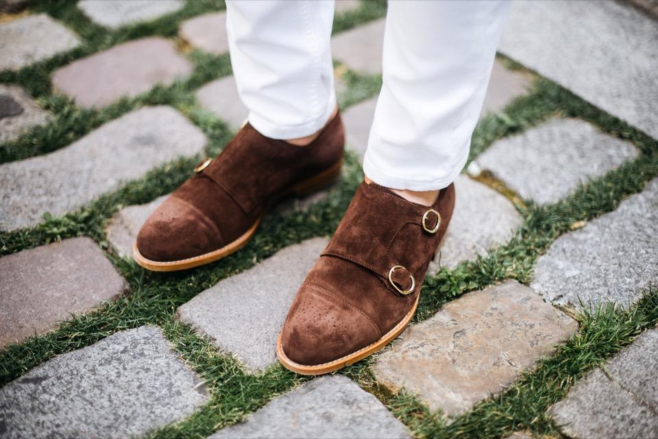 Sprezzatura chaussures double boucle Paul Smith
