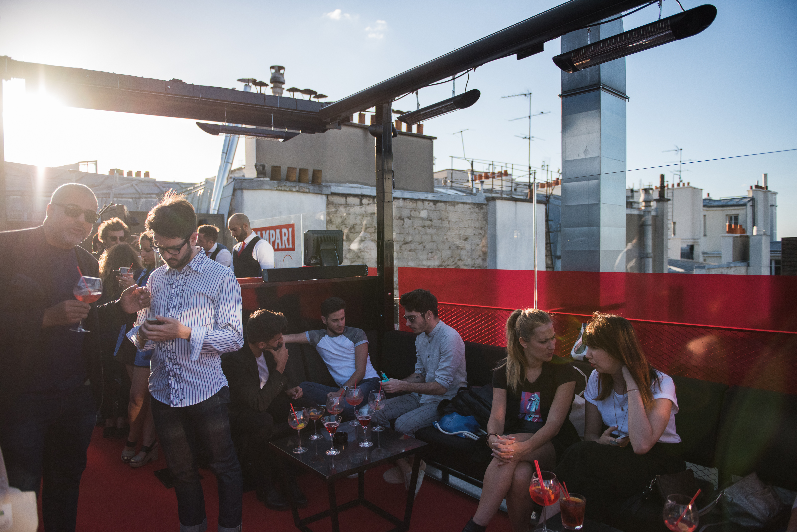 afterwork rooftop paris