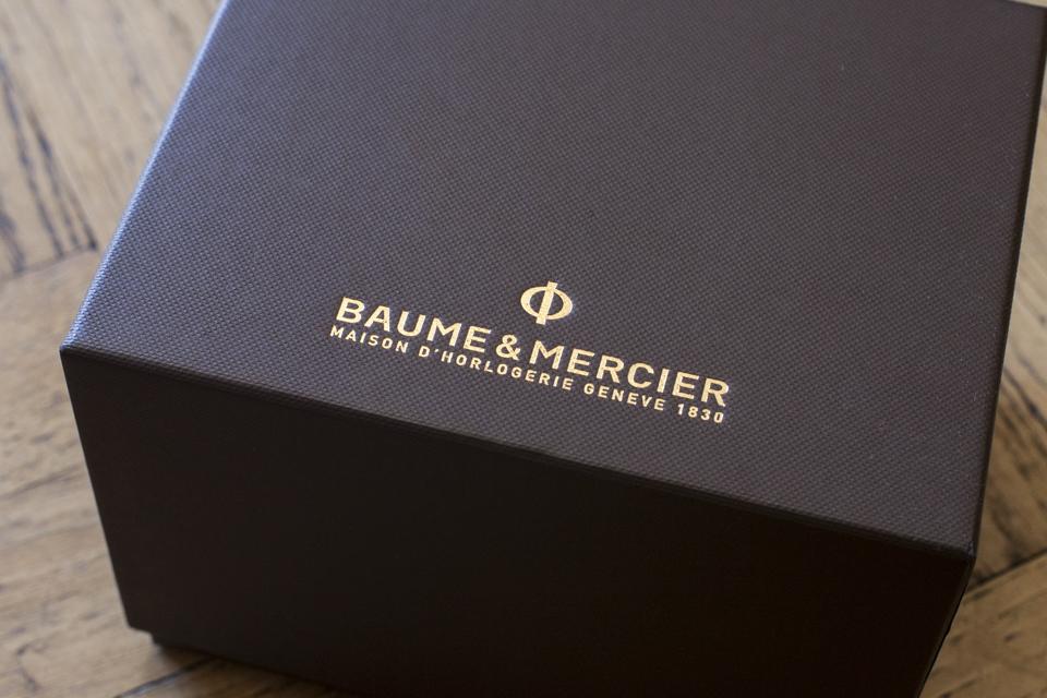 baume mercier marque montres suisse