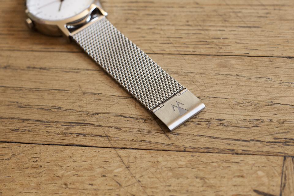 boucle montre brossee vasco watch