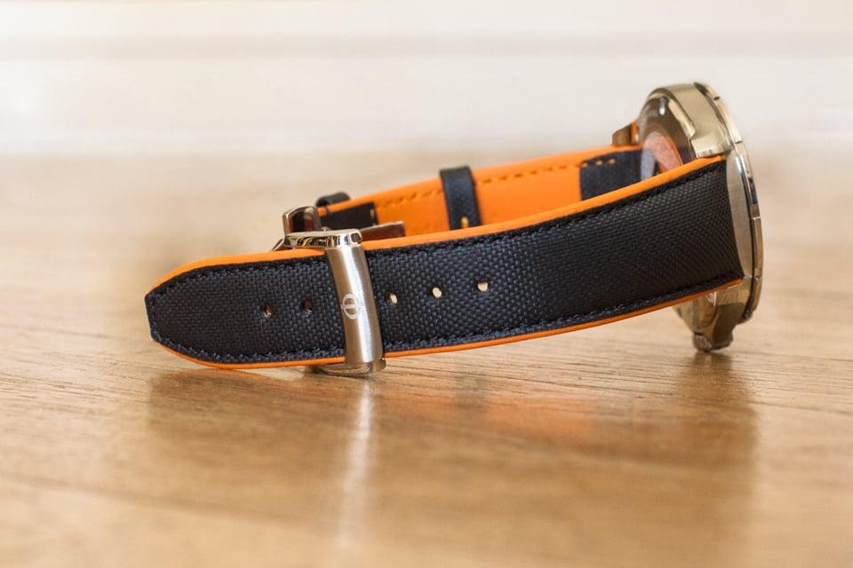 bracelet montre baume mercier clifton club cuir